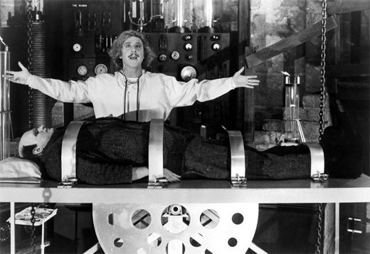 Gene Wilder Young Frankenstein