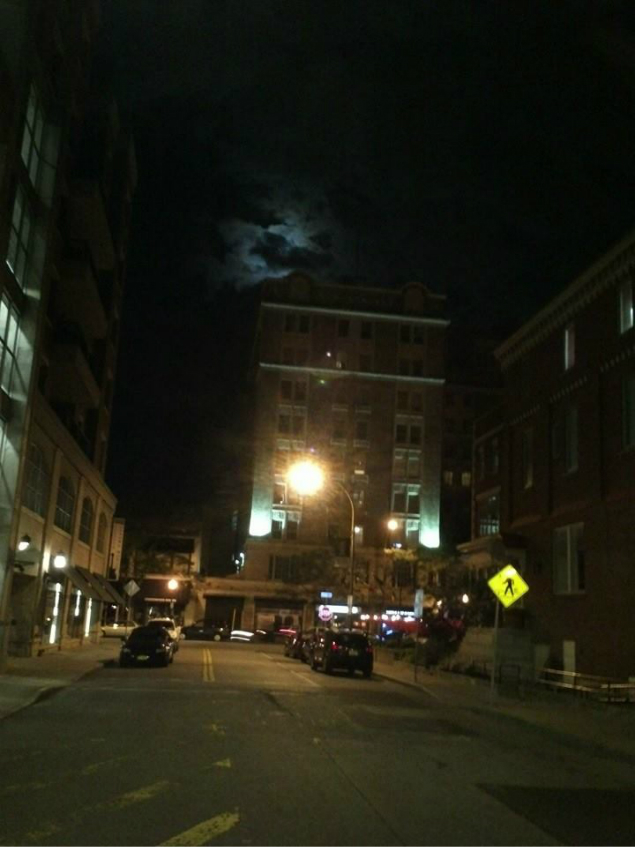 Rochester Downtown at Night