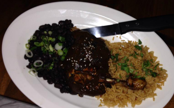 Chicken Mole, Ox and Stone, Rochester